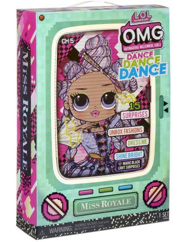 Lol Surprise Dance Dance Dance Lalka Taneczna Miss Royale 572978