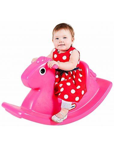 Little Tikes KONIK na Biegunach Bujak Różowy Koń