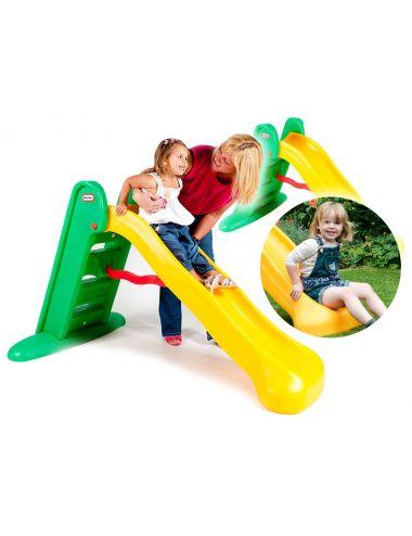 Little Tikes 426310060 Zjeżdżalnia Easy Store Zielono-Żółta Duża 150 cm