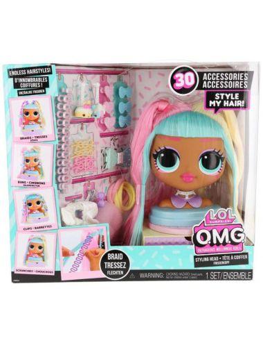 LOL Surprise OMG Candylicious Głowa do Stylizacji 572008