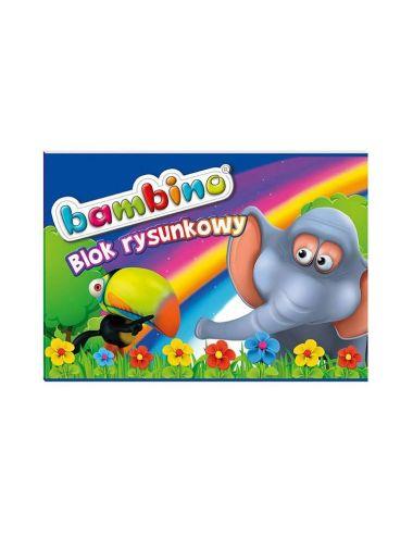 BAMBINO Blok Rysunkowy 20 Kartek Format A4 5001574