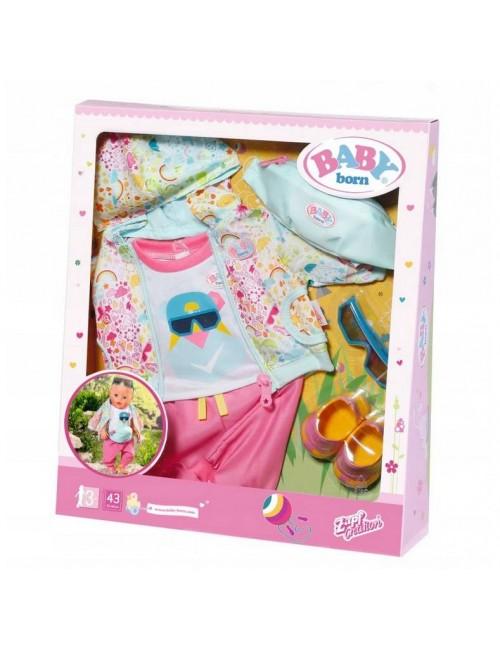 Baby Born Zestaw na Rower dla Lalki Ubranko Akcesoria 827192