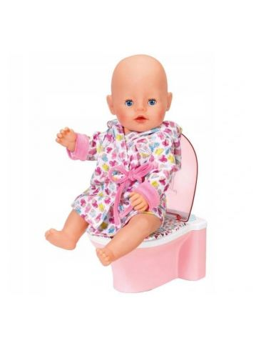 Baby Born Interaktywny Nocnik dla Lalki 43cm DŹWIĘKI Zapf Creation