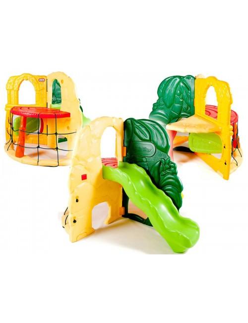 Little Tikes DŻUNGLA Plac Zabaw Zjeżdżalnia Ścianka Wspinaczkowa