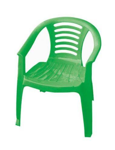 PalPlay Krzesło dla dziecka Plastikowe Zielone M332