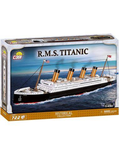 COBI Statek RMS Titanic 1:450 Historical Collection 722 klocki 1929