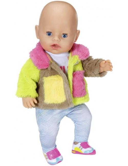 Baby Born Modne Ubranka Kolorowy Płaszczyk 43cm 830154