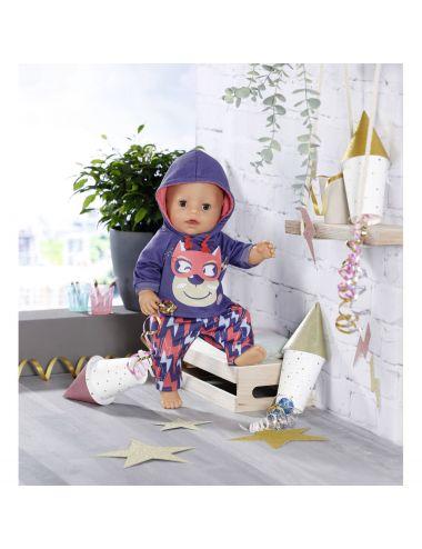 Baby Born Gość Urodzinowy i Maska 43cm 830819
