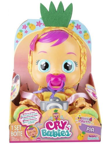 Cry Babies Tutti Frutti Laleczka Pia Ananas 093829