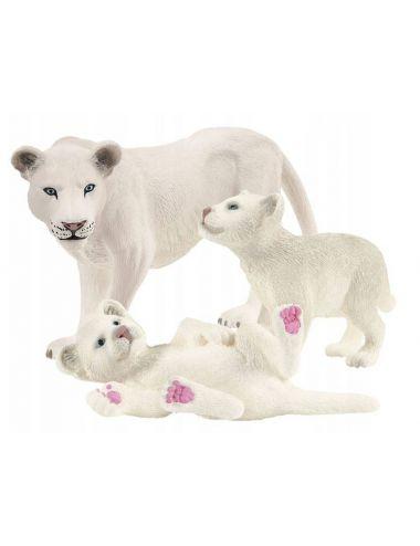 Schleich 42505 Figurka Lwica z Młodymi Wild Life