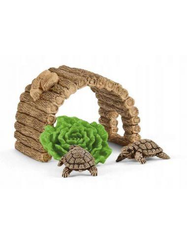 Schleich 42506 Dom dla Żółwi Wild Life
