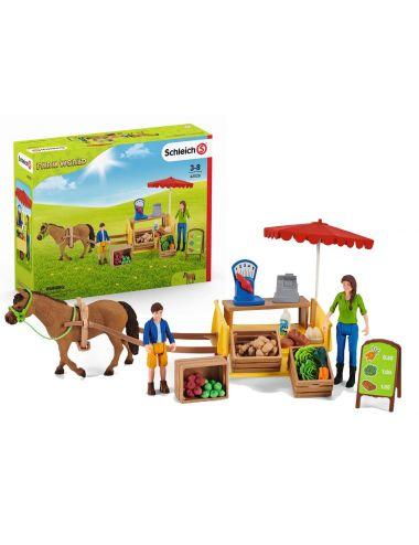 Schleich 42528 Mobilny Stragan Farm World