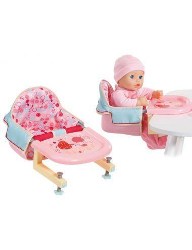 Baby Annabell Krzesełko do Karmienia przy Stole 703168