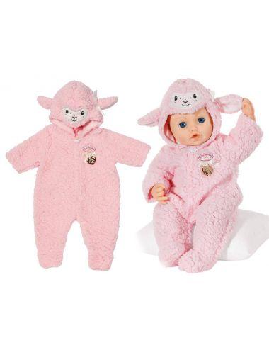 Baby Annabell Różowy Kombinezon Owieczka 43cm 703588