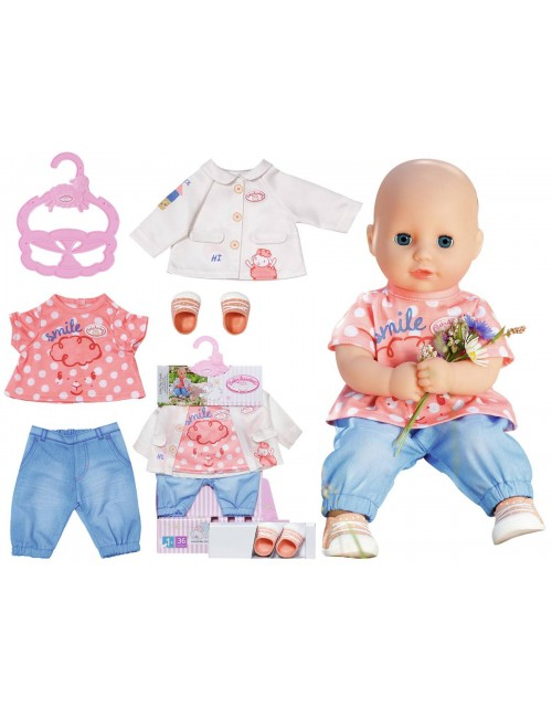 Baby Annabell Zestaw Ubranek 36cm do Zabawy 704127