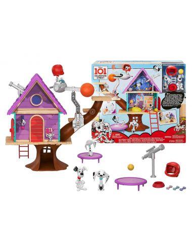 Mattel ulica 101 dalmatyńczyków domek na drzewie Dylana