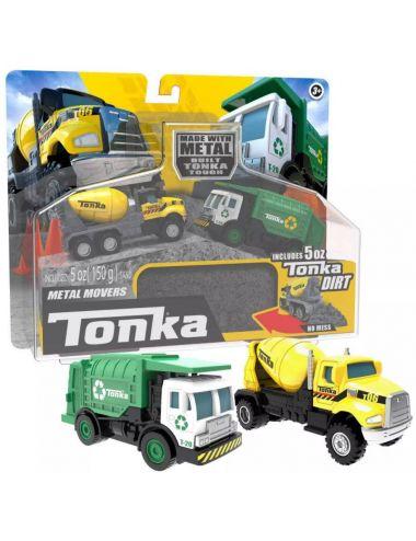 Tonka Mini Pojazdy Metal Movers Zestaw 06020