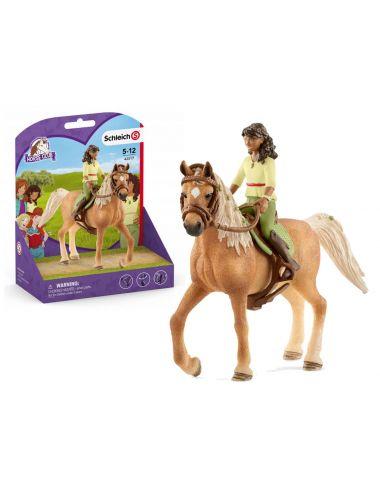 Schleich 42517 Sarah i Mystery Horse Club