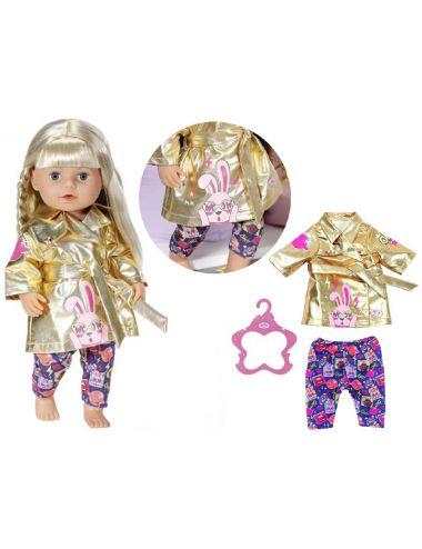 Baby Born Ubranko dla Lalki Płaszczyk Spodnie 43cm 830802