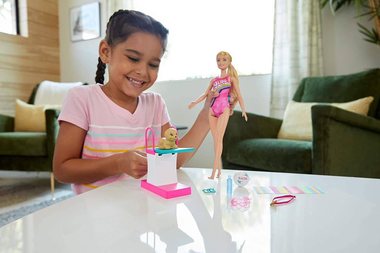 Barbie Lalka Pływaczka