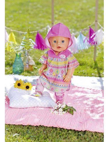 Baby Born Ubranko dla Lalki Ponczo Spodnie Buciki 43cm 830161