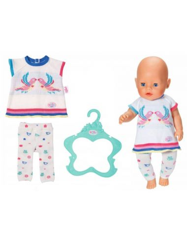 Baby Born Ubranko Dzianinowe Sukienka Legginsy 43cm 826966