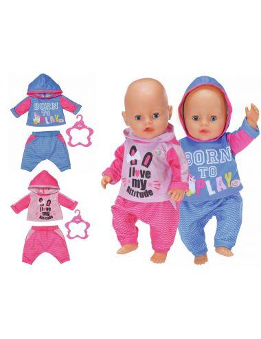 Baby Born Dresy do Joggingu dla Lalki 43cm 830109