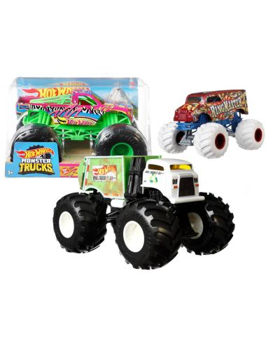 Hot Wheels Monster Truck 1:24 Pojazd 1szt FYJ83