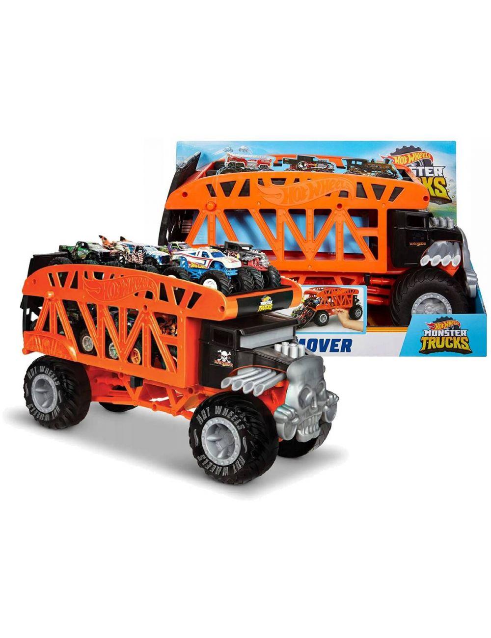 Hot Wheels Monster Truck Transporter Laweta GKD37