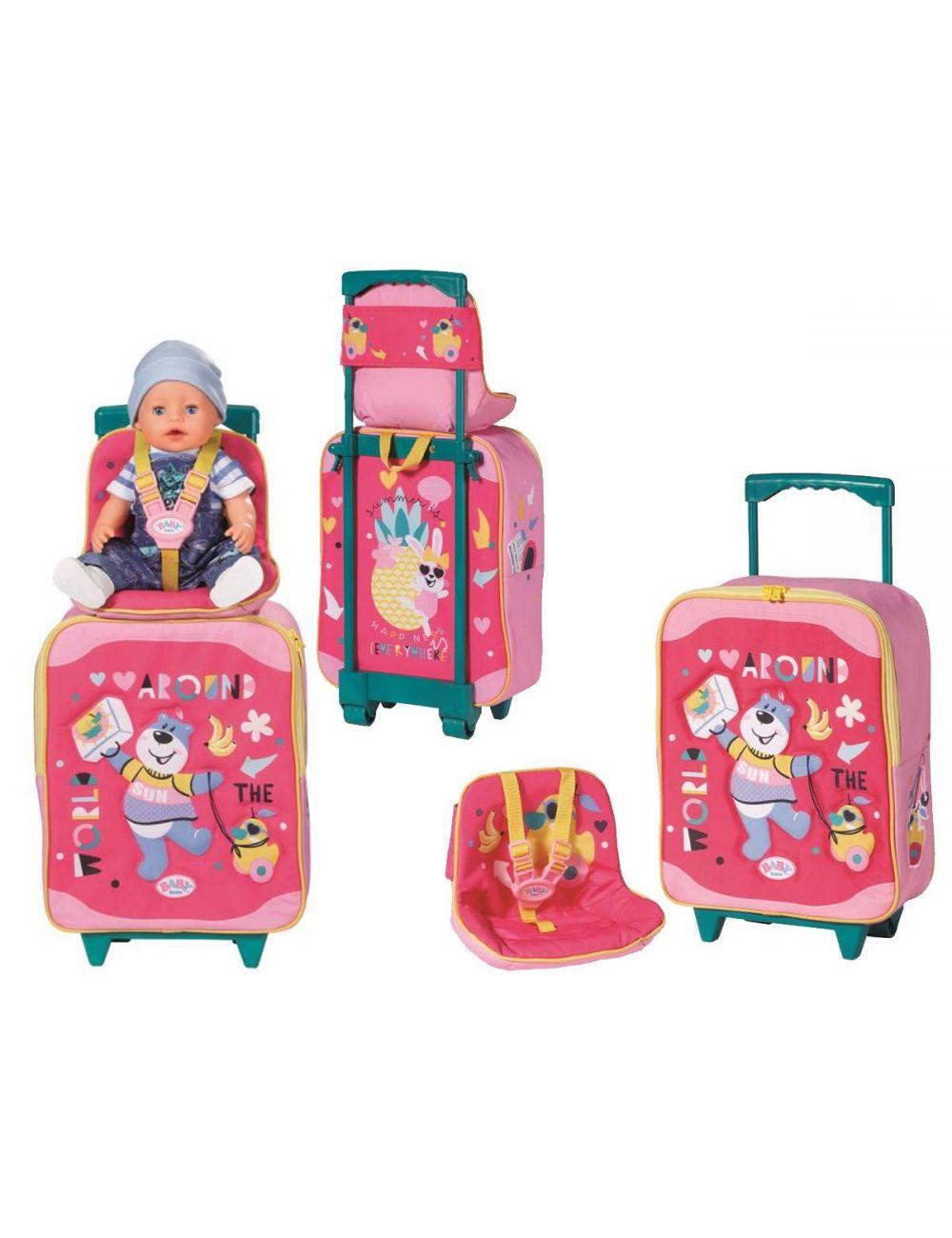 Baby Born Walizka na kółkach z siedziskiem 828441