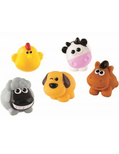 Smily Play KOLEDZY Z FARMY - do kąpieli 5 zwierzątek