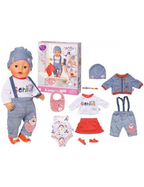 Baby Born Zestaw Ubranek i Akcesoriów Mix 826928