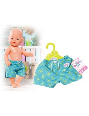 Baby Born Szorty Plażowe Letnie 825457 niebieskie