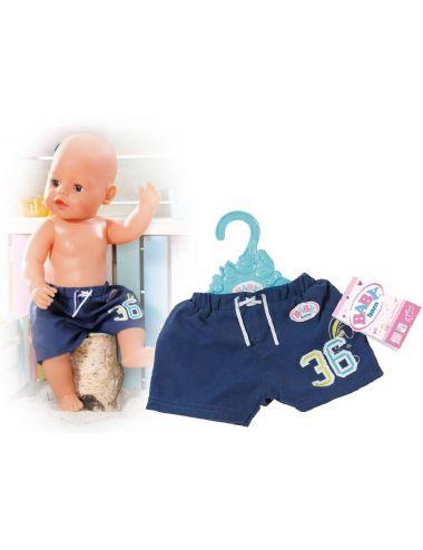 Baby Born Szorty Plażowe Letnie 825457 granatowe