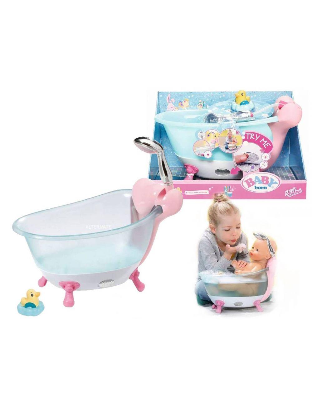 Baby Born Interaktywna Wanienka Wanna Światło Dźwięk 824610