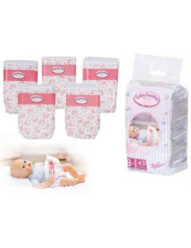 BABY Annabell pieluszki dla lalki 43 cm 703038