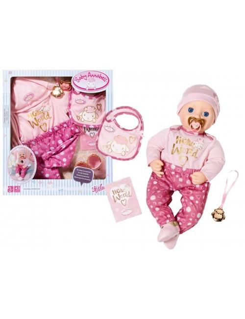 Baby Annabell Piżamka różowa ze śliniaczkiem 701942