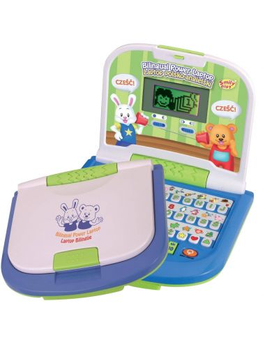 Smily Play Laptop dwujęzyczny edukacyjny PL ENG 8030