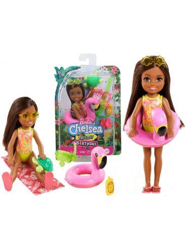 Barbie Laleczka Chelsea Wakacyjna Akcesoria GRT82