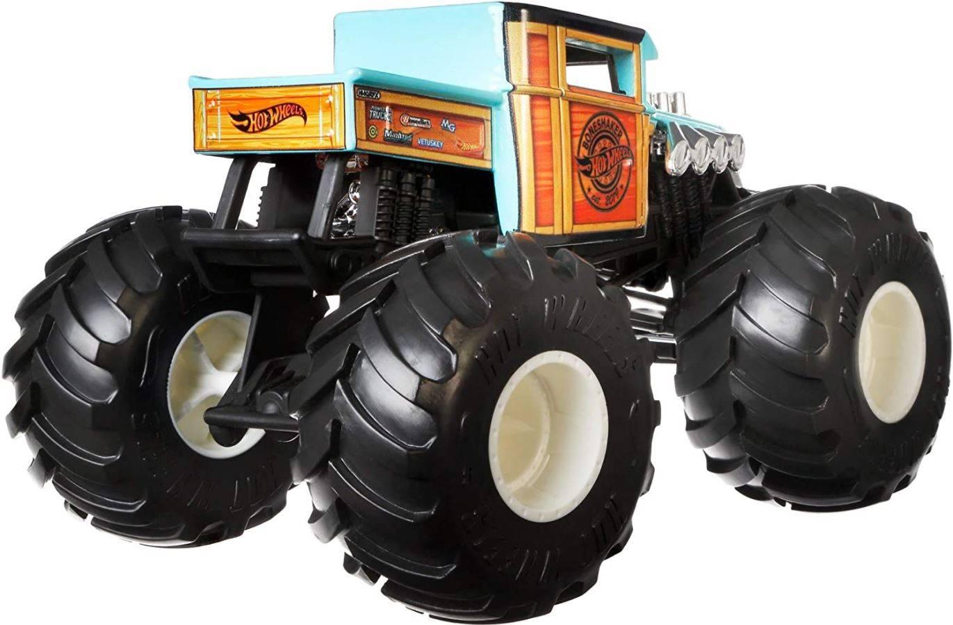 Hot Wheels Monster Trucks Bone Shaker GWL05