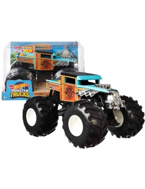 Hot Wheels Monster Trucks Pojazd Bone Shaker 1:24 GWL05