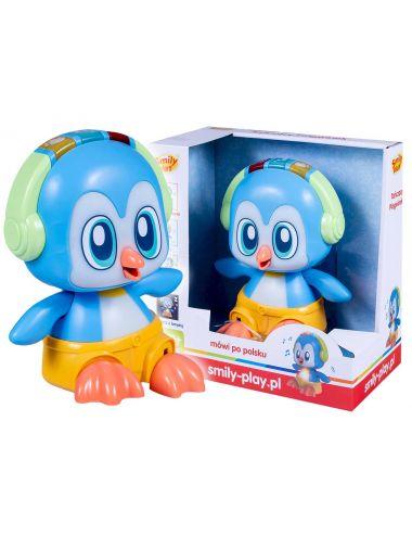 Smily Play Tańczący Pingwinek Niebieski SP83393