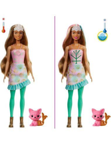 Barbie Syrena Fantazja Color Reveal Niespodzianka GXV93