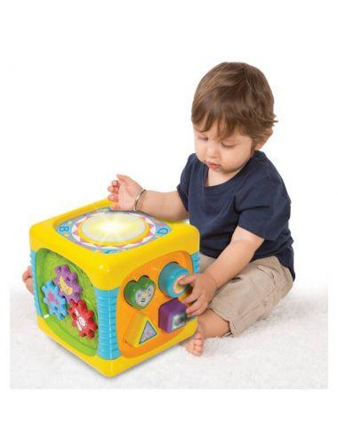 Smily Play Kostka Centrum Zabawy Kolorowa Interaktywna 0741