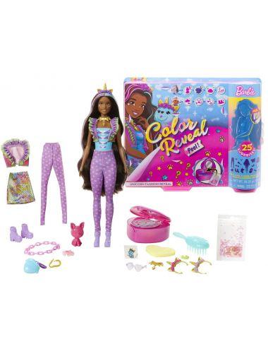 Barbie Jednorożec Fantazja Color Reveal Niespodzianka GXV95