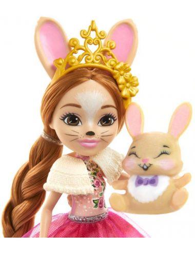 Enchantimals Lalka Rodzina Króliczki Brystal Bunny GYJ08 Mattel