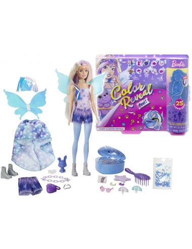 Barbie Wróżka Fantazja Color Reveal Niespodzianka GXV94