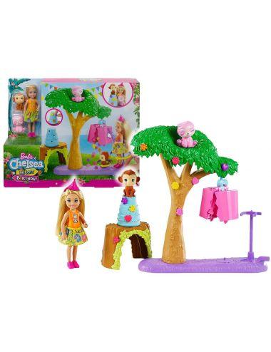 Barbie Laleczka Chelsea Urodziny z Niespodzianką GTM84