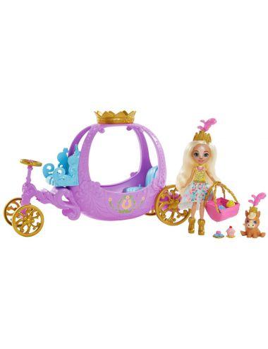 Enchantimals Lalka Królewska Karoca GYJ16 Mattel