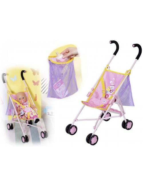 Baby Born Wózek Spacerówka z Torbą 828663